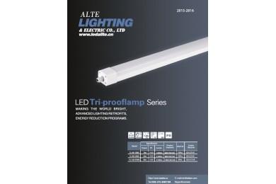 M-Alite 2015  LED Tri-proof Lights Catalogue